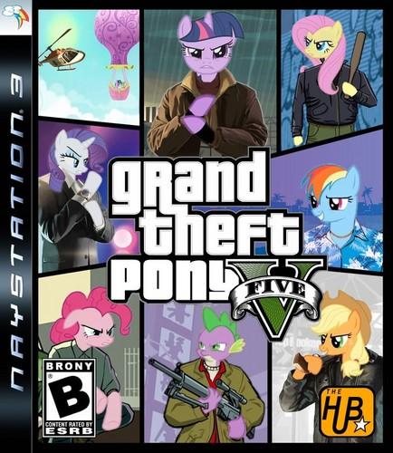 Grand Theft Pony 5
