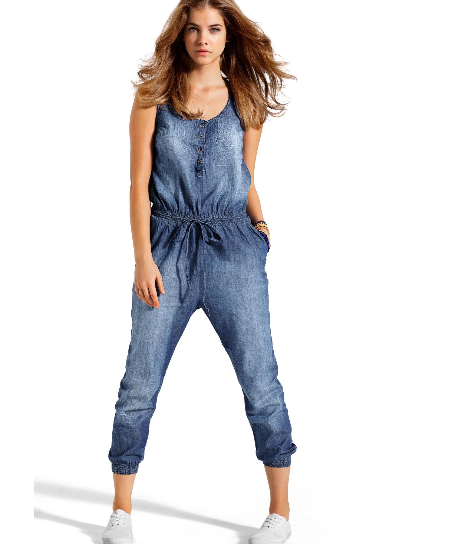 Сшить комбинезон джинсовый женский