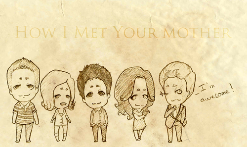 How I Met Your Mother kertas dinding possibly with Anime called HIMYM
