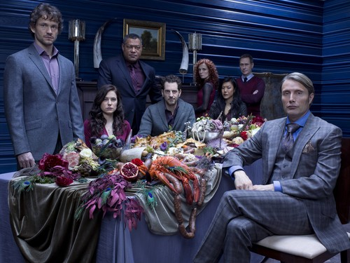Hannibal TV Series wallpaper containing a business suit entitled Hannibal - Cast