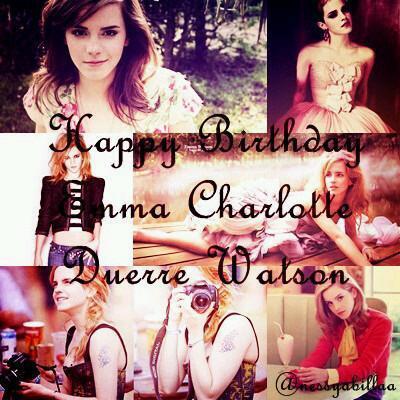 Happy Birthday Emma Watson. ^_^