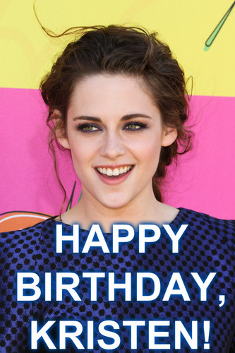 Happy Birthday, Kristen!