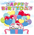 Happy birthay Hello Kitty - hello-kitty photo