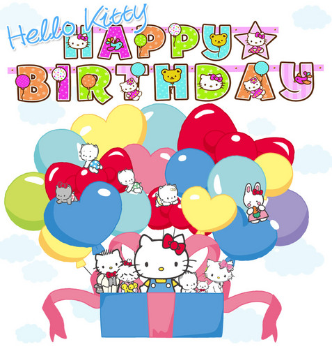 Happy birthay Hello Kitty