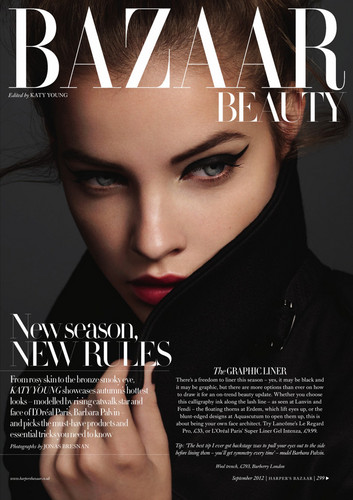 Harper's Bazaar UK Issue: September 2012