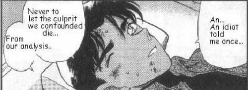 Heiji Retold Conan's Line