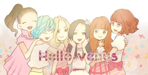 Hello Venus achtergrond possibly with anime titled Hello Venus ~