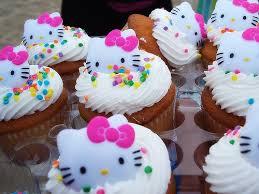 Hellokitty cupcake