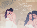 Ian+Nina - ian-somerhalder-and-nina-dobrev wallpaper