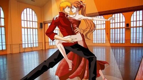 Ichigo and Orihime Dance-tango