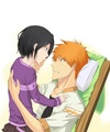 Ichigo and Rukia - ichigo-and-rukia-sun-and-moon fan art