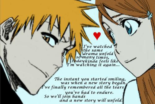 Ichigo and orihime