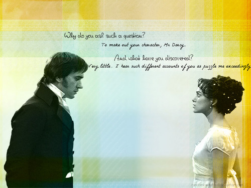 Pride and Prejudice achtergrond titled Illustration of Your Character v2