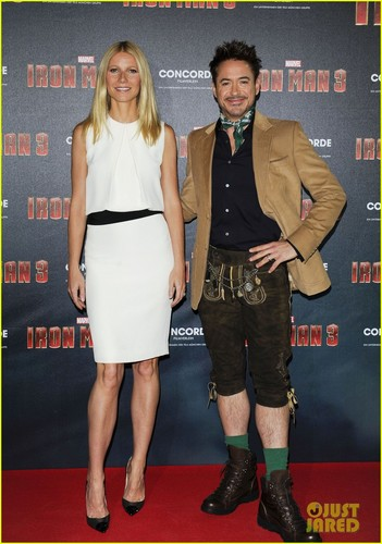 Iron Man 3 Gernany photo call
