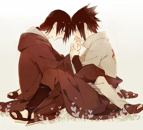 Itachi and Sasuke Uchiwa/Uchiha