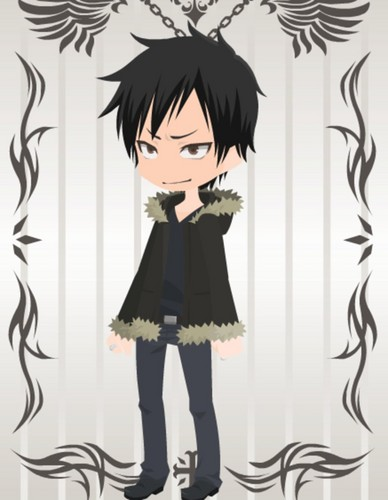 1Izaya Orihara 壁紙 possibly containing a sign, a well dressed person, and an outerwear titled Izaya Orihara