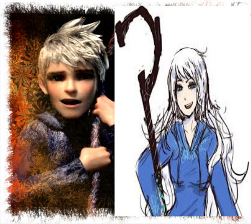 Jack frost And Winter Snow
