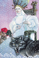 Jadis the White Witch. - jadis-queen-of-narnia fan art