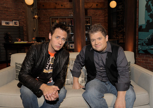James Gunn & Patton Oswalt