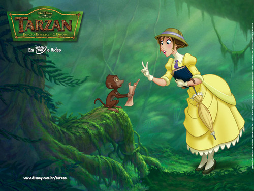 Jane Porter wallpaper containing anime entitled Jane