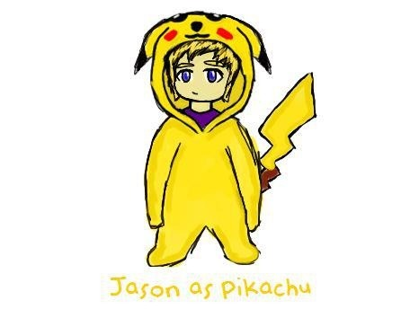 Jason Being A Pokémon Fanboy