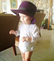 "Jennifer's nephew (David ""Bear"") wearing her hat. - jennifer-lawrence fan art"