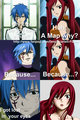 Jerza Pick up line~ - the-fairy-tail-guild photo