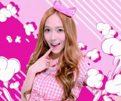 Jessica SNSD wallpaper containing a parasol and a portrait called Jessica Beep Beep~