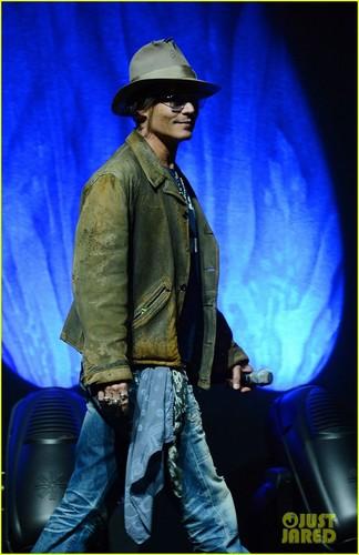 Johnny Depp at CinemaCon 2013 Disney