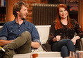 Jon Heder and Felicia Day