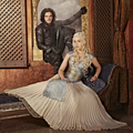 Jon and Daenerys - au-crossover-couples photo