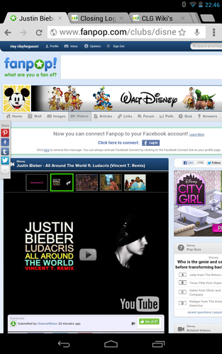 Justin Bieber does not relate to ディズニー -_-
