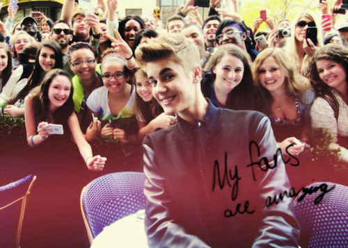 Justin is my idol. Is he yours?