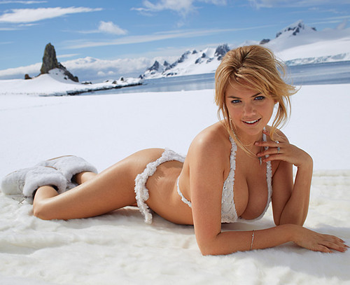 "केट अप्टन वॉलपेपर containing a bikini titled Kate Upton for ""Sports Illustrated"" - (2013)"
