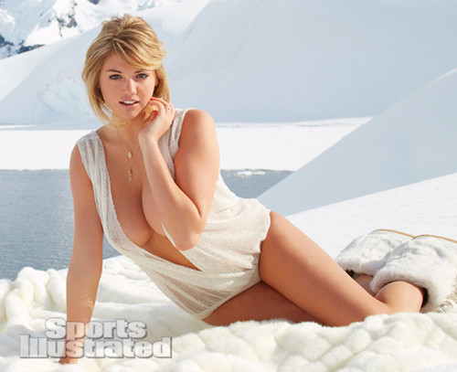 "केट अप्टन वॉलपेपर containing skin called Kate Upton for ""Sports Illustrated"" - (2013)"