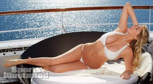 "Kate Upton hình nền containing a bikini and skin entitled Kate Upton for ""Sports Illustrated"" - (2013)"