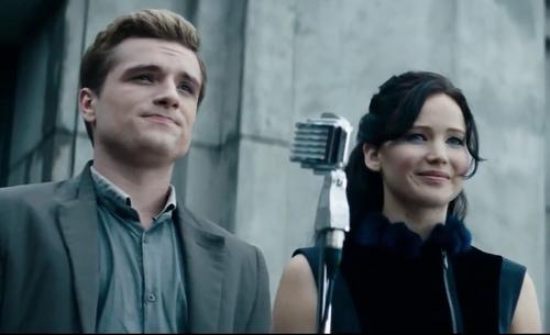 Katniss & Peeta - Catching Fire teaser trailer - Jennifer