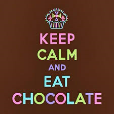 Keep Calm!!! and amor CHOCOLATE!!!