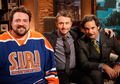 Kevin Smith, Chris Hardwick and Paul F. Tompkins - the-talking-dead photo