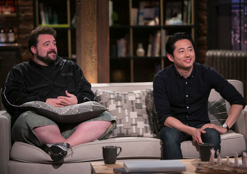 Kevin Smith and Steven Yeun