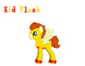 Kid Flash as a pony - young-justice photo