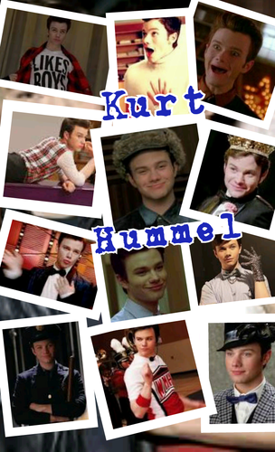 Glee wallpaper with an electric refrigerator entitled Kurt Hummel