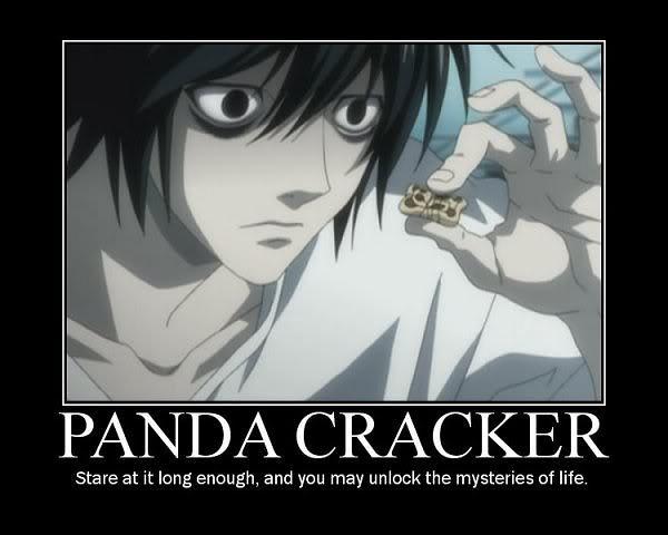 L and Panda Cracker