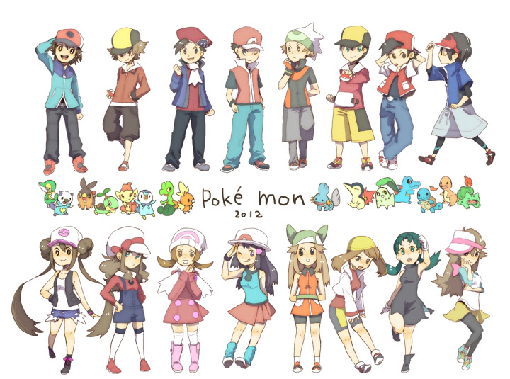 Anime Characters As Pokemon : Pokemon leaf images hd wallpaper and background