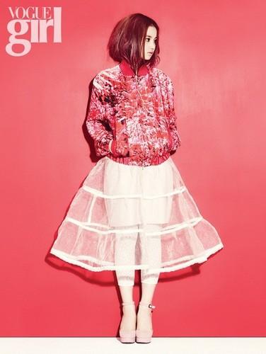 Lee Hi for 'Vogue Girl' ~