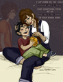 Leo and Esperanza Valdez Memories - the-heroes-of-olympus fan art