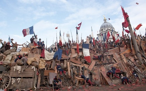 Les Misérables: Behind the scenes in pictures