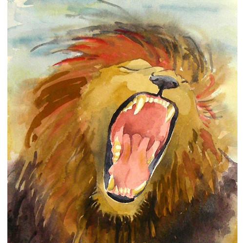 Lions پیپر وال called Lion