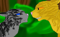 Lionblaze X Cinderheart