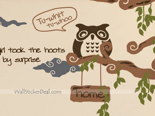 Little Owl animales Stickers